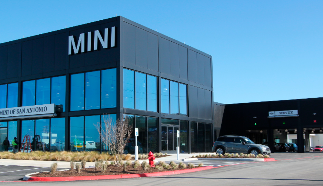 San Antonio BMW Mini Showroom